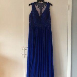 Jovani Beaded Gown